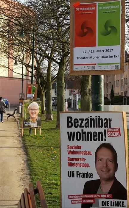 Wahlkampf mit Franke, Partsch