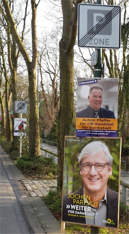Wahlkampf Partsch, Pfeifer
