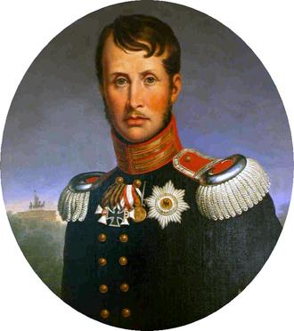 Portrait Friedrich Wilhelm III.