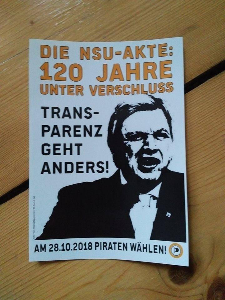 Buffier -Bild mit Die NSU AKte: 120 Jahre unter Verschlusss. Transparenz geht anders.