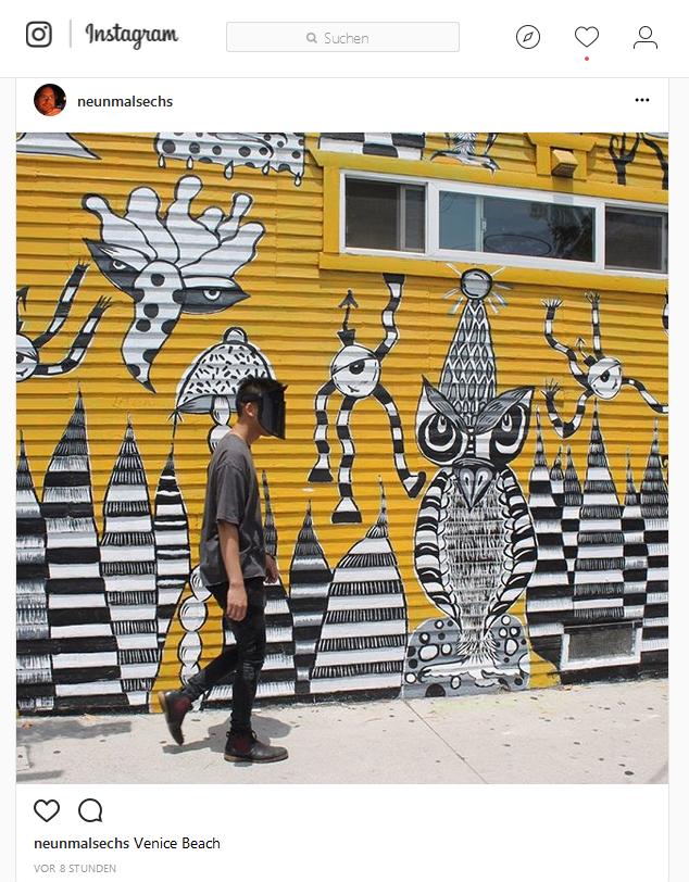 Neun Mal Sechs auf Instagram