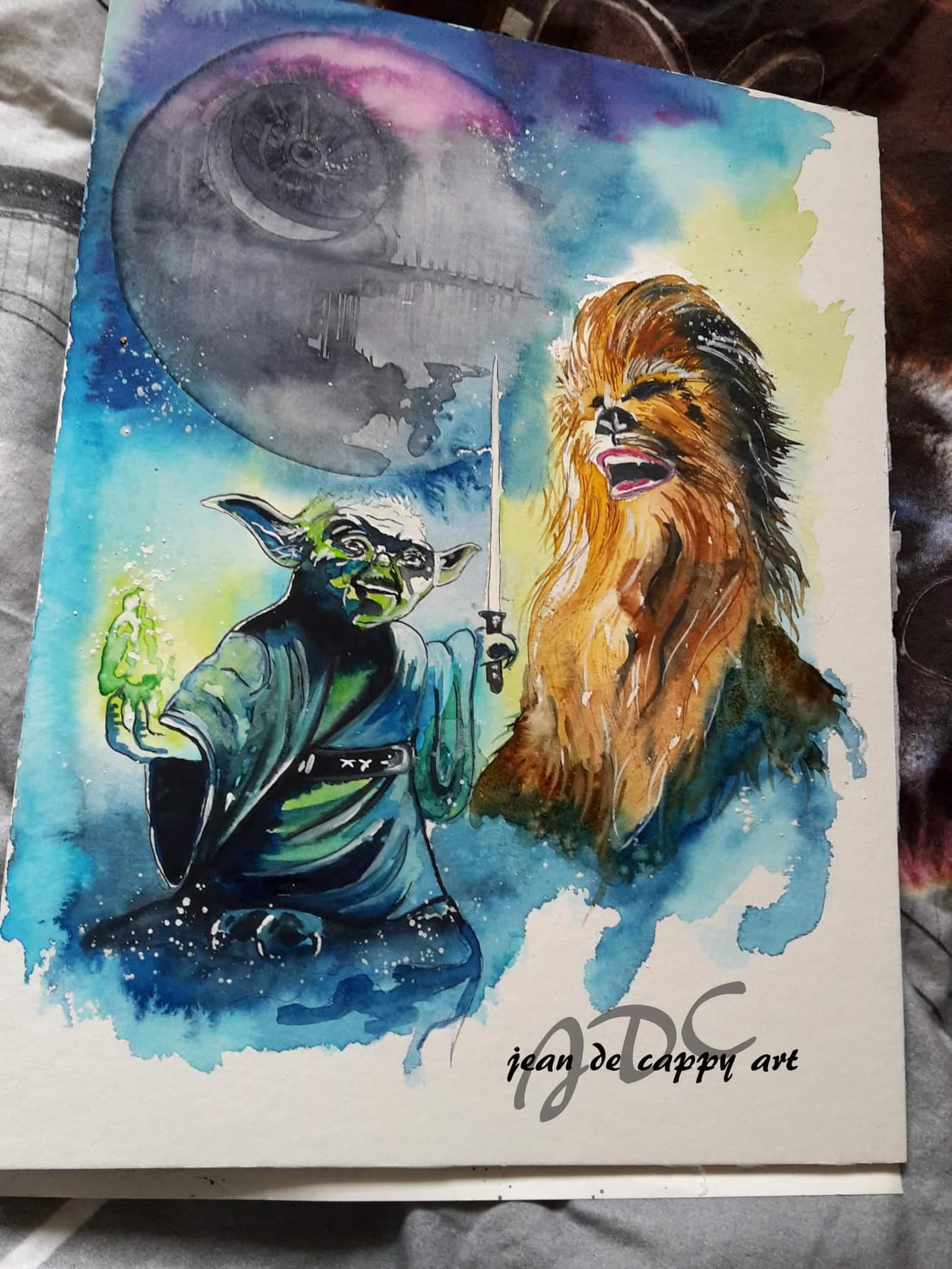 Star wars - Episode VI - Return of the Jedi - gemalt von Jean De Cappy Art