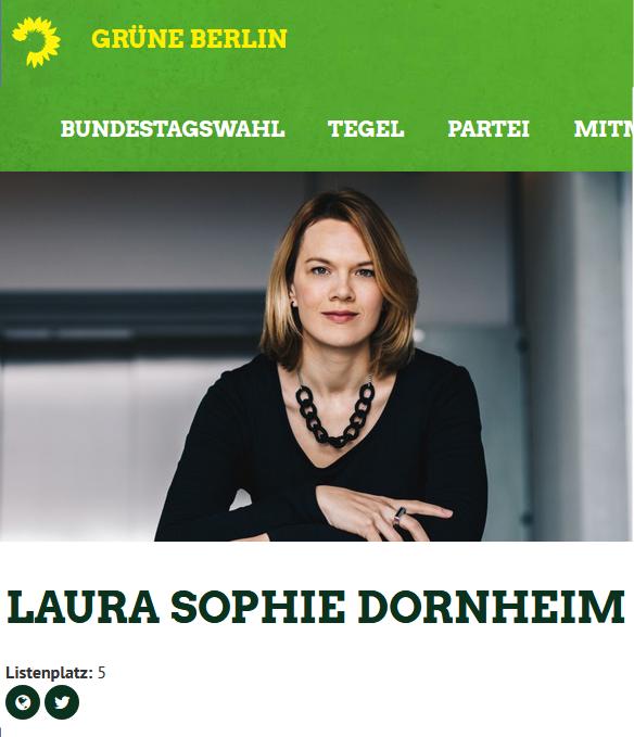 Laura Sophie Dornheim - Grüne