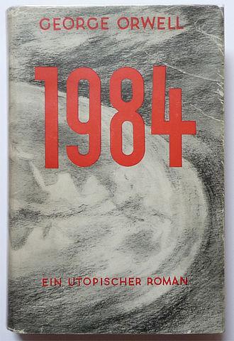 George Orwell - 1984. Titel der dt. Erstausgabe