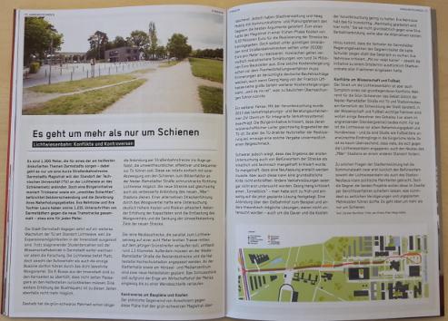 Foto des Artikels zur Lichwisenbahn im P-Magazin