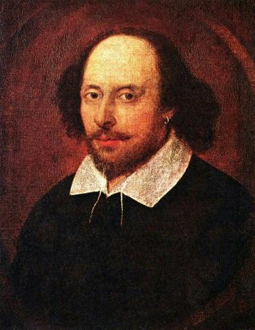 Dieses Bild zeigt vermutlich William Shakespeare