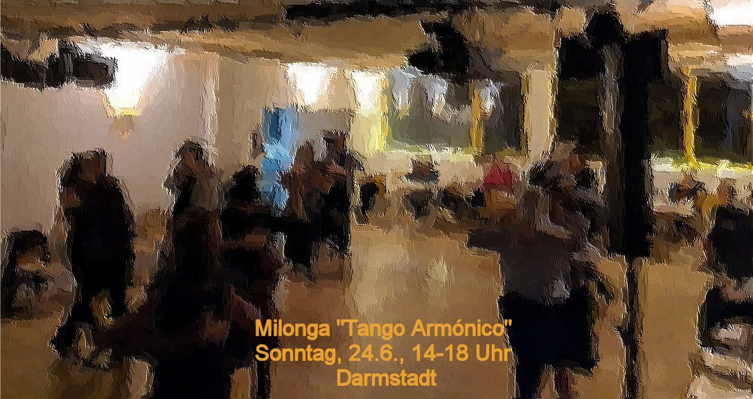 Milonga Tango Armónico in Darmstadt
