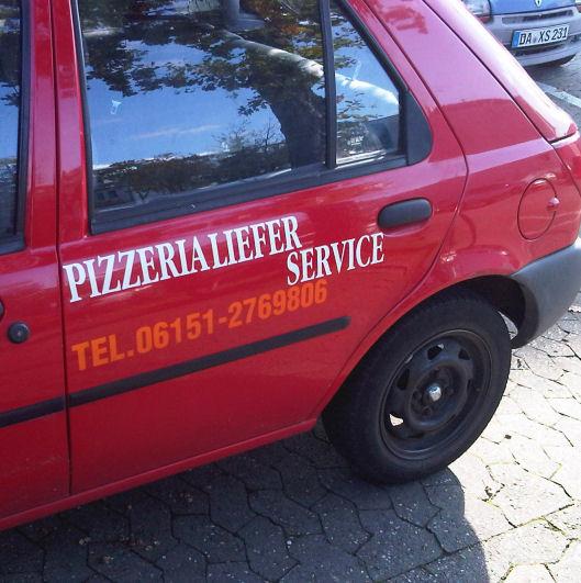 Der weltweit einzig(st)e Pizzeria -Liefer Service? In Darmstadt!