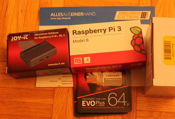 Raspberry Pi plus Zubehör von Elektronik Zimmermann in Darmstadt