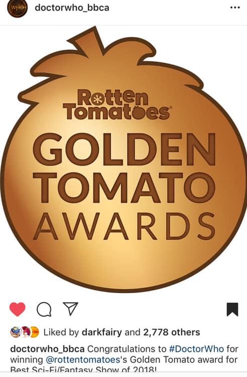 Rotten Tomato - Award 2018